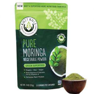 pure moringa powder